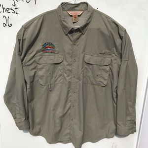 Redington Fly Fishing Long Sleeve Large Shirt